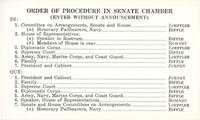 Image: Order of Procedure (Card), 1937 Joseph T. Robinson Funeral (Cat. no. 11.00045.020)