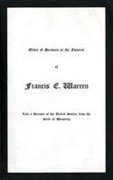 Image:  Order of Services, 1929 Francis E. Warren Funeral (Cat. no. 11.00004.00c)