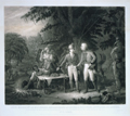 Gen. Marion in his Swamp Encampment Inviting a British Officer to Dinner.