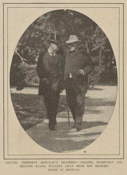 Mark Hanna & Theodore Roosevelt
