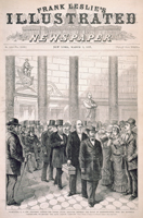Washington, D. C.—The Electoral Contest—The United States Senators Entering the House of Representatives, with the Electoral Certificates, to Re-open the Joint Session, February 12th.