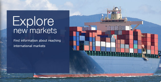 Explore new markets. Gain knowledge of potential new markets and expand your reach internationally.