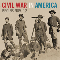 Civil War in America begins Nov. 12