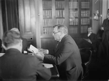 H F Stone appearing before Senate Judiciary Committee2