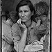 Destitute pea pickers in California. Mother of seven children. Age thirty-two. Nipomo, California (LOC)