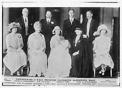 Christening of H.R.H. Princess Elizabeth Alexandra Mary  (LOC)