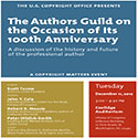 Authors Guild Anniversay