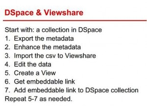 Steps for Using Viewshare and DSpace