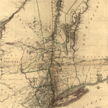 A map of the Province of New-York, reduc'd from the large drawing of that Province, compiled from actual surveys by order of His Excellency William Tryon, Esqr. Captain General & Governor of the same,