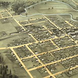 Hudson, Lenawee Co., Michigan 1868.