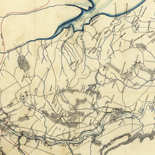 Map of the Rappahannock River from [sic] Port Royal to Richards Ferry