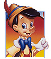 "Walt Disney's classic ""Pinocchio"""