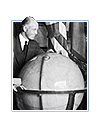 Unidentified group viewing globe, 1/12/24