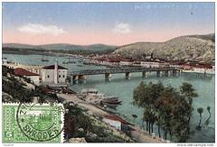 Pamje nga Shkodra, 1924. Vue de Shkodër, Albanie. View from Shkodra, Albania.