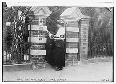 Mail delivery, Berlin, Mail Carrier  (LOC)