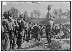 Austrians crossing the Wislocka  (LOC)