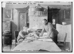 German Army press bureau in the East  (LOC)