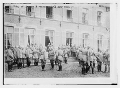 King of Saxony and officers 27th Army Corps  (LOC)