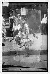 On a play street, N.Y.  (LOC)