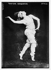 Thamar Karsarvina [dancing]  (LOC)