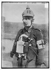 German Protection against gas bombs  (LOC)