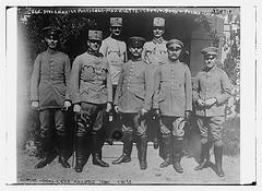 German Commanders awarded Iron Cross:  Gen. Stolzman, Lt. Purtscher, Maj. Klette, Capt. V. Boeh u Polach, Capt. Muff, Capt. Kalcio, Capt. V. Karaisl  (LOC)