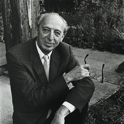 """Photo: http://www.youtube.com/watch?v=tC2Df9_AtLQ  Today is the birthday of Aaron Copland (November 14, 1900 – December 2, 1990).  Copland created one of the best known arrangements of an archival treasure from the American Folklife Center in 1942, when he scored the ballet """"Rodeo"""" for Agnes DeMille.  He based the """"Hoedown"""" section on a distinctive version of the fiddle tune """"Bonaparte's Retreat,"""" collected for the Archive by Alan and Elizabeth Lomax from William Hamilton Stepp in 1937.  Most traditional renditions of this tune are 4/ 4 marches, but Stepp almost doubled the usual tempo, converting the tune into a breakdown. John and Alan Lomax published Ruth Crawford Seeger's transcription of the tune in the book """"Our Singing Country"""" (1941). When Copland was composing """"Hoedown,"""" his eye was caught by the version in the Lomax book, and he adopted it almost note for note as the principal theme of the section.  At the link above, hear Copland's adaptation.  At the link below, view the AFC catalog card for Stepp's performance.  http://memory.loc.gov/diglib/ihas/loc.afc.afc9999005.6215/enlarge.html?from=default"""