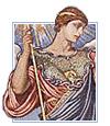 Mosaic of Minerva by Elihu Vedder