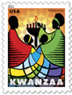 Image of Kwanzaa Forever stamp.
