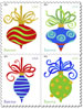 Image of Holiday Baubles Forever stamp.