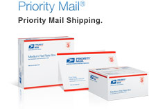 Priority Mail®. Priority Mail Shipping. Learn More. Image of Priority Mail shipping supplies.