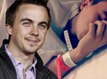 'I couldn't say words': Malcolm In The Middle star Frankie Muniz reveals the horror of experiencing a stroke at 25... while his girlfriend tweets emotional hospital picture