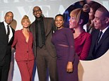 Star-studded: (L-R) Sportsman of the Year LeBron James, Savannah Brinson, Beyonce, and Jay-Z attend the 2012 Sports Illustrated Sportsman of the Year award presentation in New York City