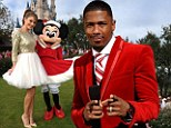 Hear those bells! Nick Cannon and Maria Menounos get in the Christmas spirit as they host Disney holiday special