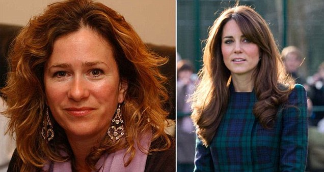Sonia Purnell and Duchess of Cambridge