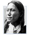 Sun Flower, Native American man