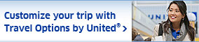 Customize your trip with travel options by United