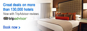 Get great deals on more than 130,000 hotels.