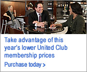 Purchase a United Club membership