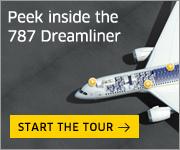 Experience the 787 Dreamliner vitual tour