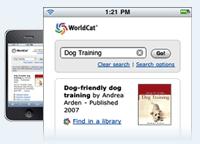 Illustration: WorldCat on the mobile Web