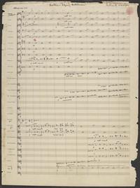 Der fliegende Hollander. Overture [manuscript score]