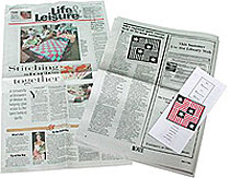 Image of newspaper article on Bernie Herman