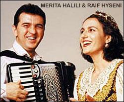 Image: Merita Halili and Raif Hyseni