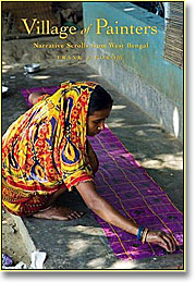 Image: Book cover showing Indian woman artist