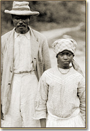 Image of Jamaican Maroons in 1907