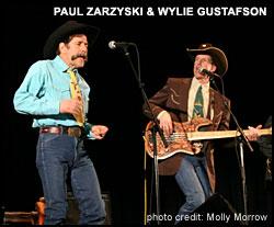 Image: Paul Zarzyski and Wylie Gustafson