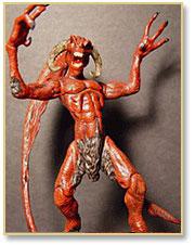 Image: Jersey Devil (sculpture)