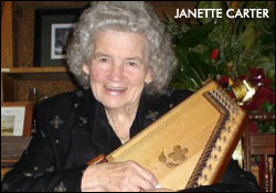 Janette Carter with Autoharp