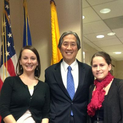 Photo: Thank you for choosing healthfinder.gov as your prevention and wellness resource. We're excited to announce we reached 1 million web visits last month! We're pictured here with Dr. Howard Koh, Assistant Secretary for Health at HHS - Ellen and Silje, from the healthfinder.gov team
